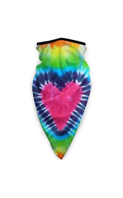 Tie Dye Love American Face Mouth Mask