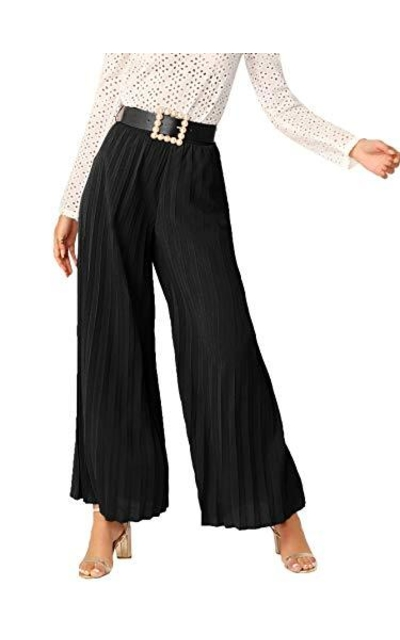 SheIn Palazzo Pants with Belt