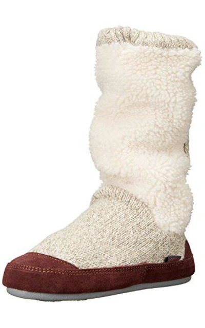Acorn Slouch Boot Slipper