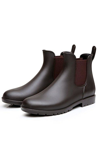 Colorxy Ankle Rain Boots