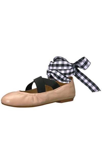 The Fix Singh Elastic Strap Ballet Flat