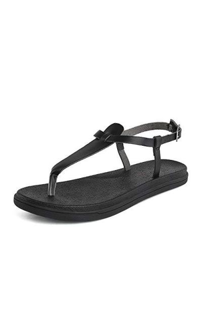DREAM PAIRS T Strap Thong Sandal