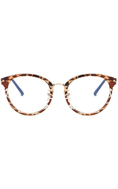 SOJOS Round Anti Blue Light Blocking Glasses