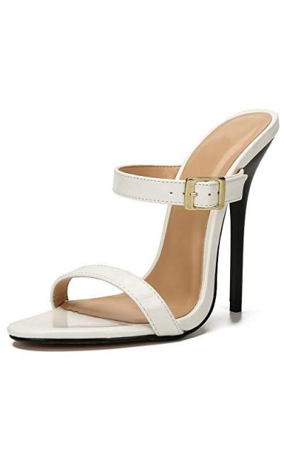 MAIERNISI JESSI High Heel Open Back Sandals