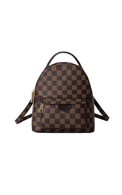 Gerosse Checkered Small Backpack
