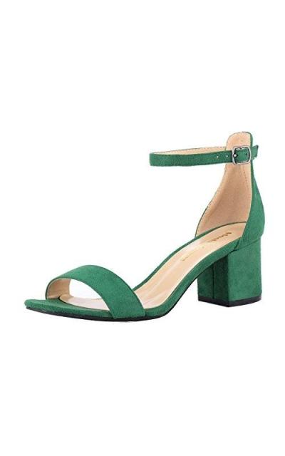 Block Low Heeled Sandals
