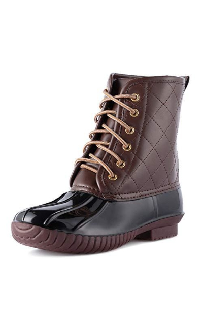 WFL Snow Boots for Women Ankle Duck Boot
