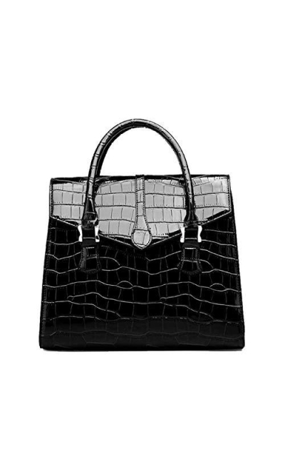 female bag Classic crocodile Lady handbag