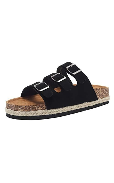 Arizona 2-3 Strap Adjustable Buckle Platform Sandals