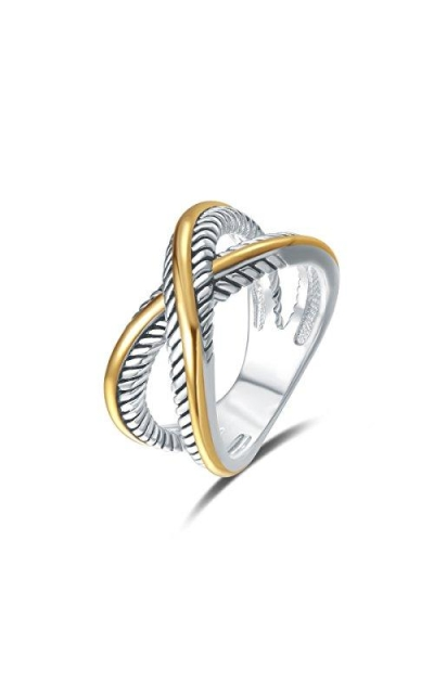 UNY Ring Vintage Cable Twist Ring