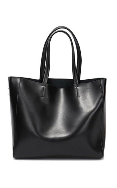 Covelin Genuine Soft Leather Tote  Bag