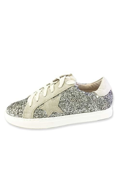 Classic Two Tone Star Sneakers