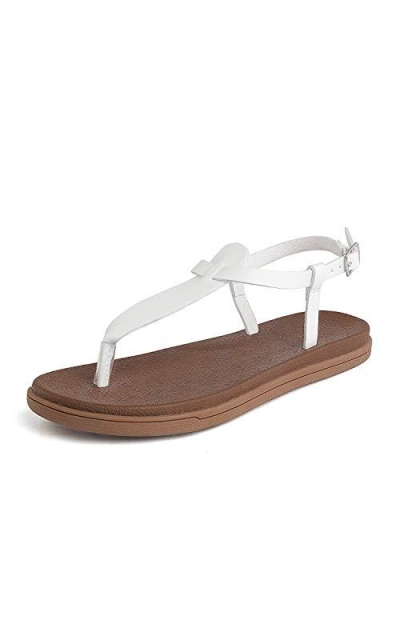 DREAM PAIRS T-Strap Flat Sandals