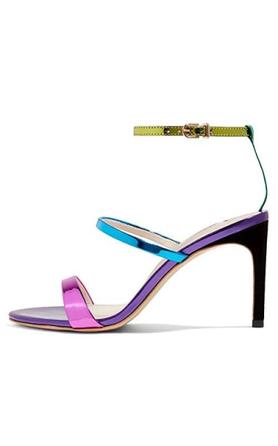 FSJ Colorful Strappy Sandals