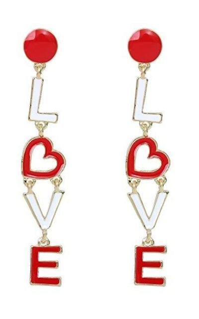 Love Dangle Earring