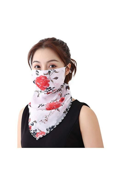 Dustproof Earloop Neck Scarf Bandanas