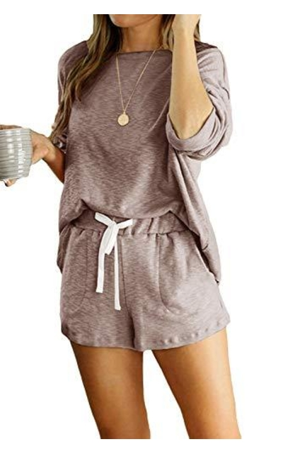 Yidarton Shorts Pajamas Set