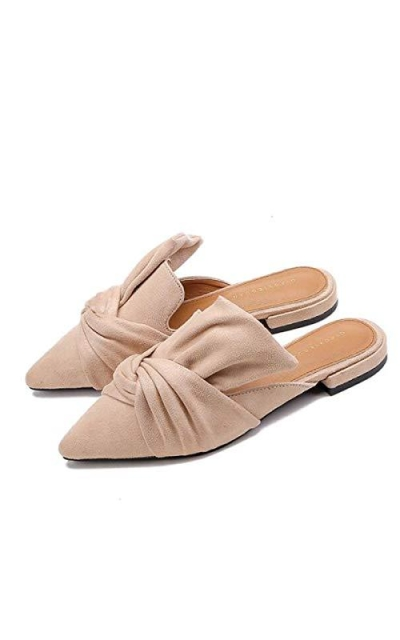 VFDB Bowtie Mule Slippers