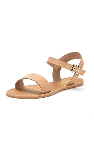 DREAM PAIRS Hoboo Flat Sandals