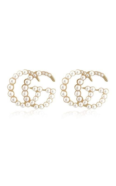 Pearl  G Earrings