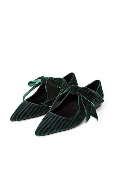 TenYas Velvet Shoes