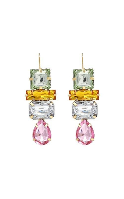 Aidyfeso Statement Drop Earrings