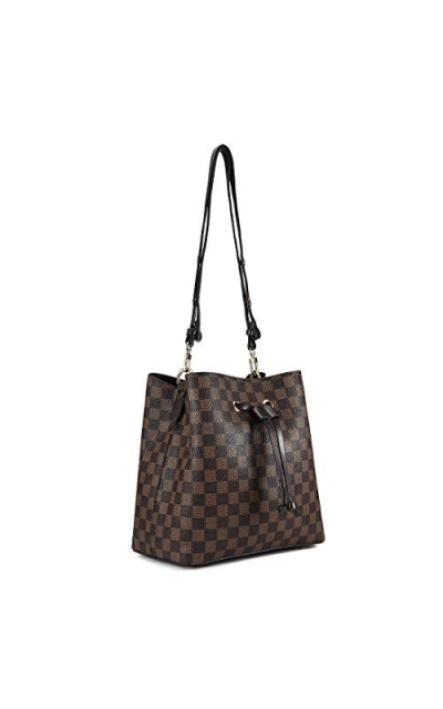 Checkered Handbag