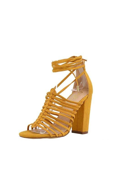 Olivia and James Open Toe Strappy Sandals