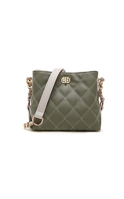 Bestsent Medium Leather Crossbody Bag