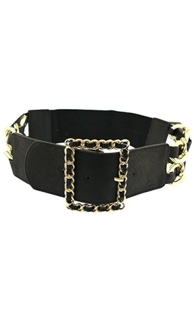 BlingKicks Square Chain Belt