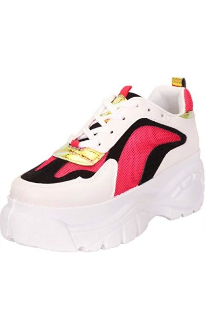 Cambridge Select Retro 90s Dad Sneakers
