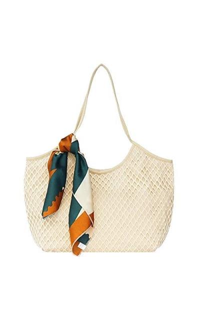 Aisa Crochet Handbag Beach Tote