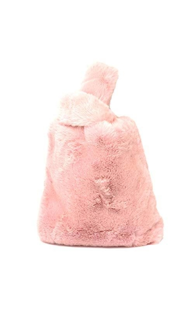 Me Plus Soft Faux Fur Tote Bag