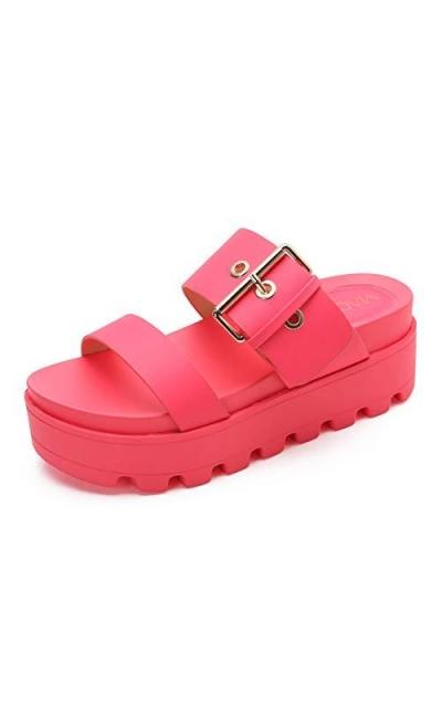 MACKIN J 591-1 Open Toe Platform Slide Sandals