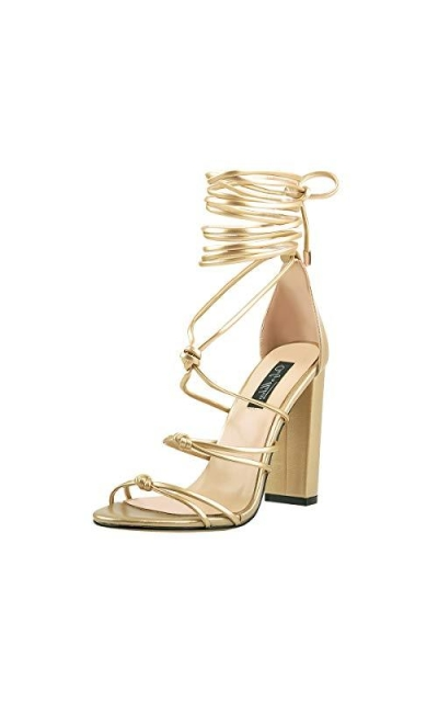 Onlymaker Lace up Knot Sandals