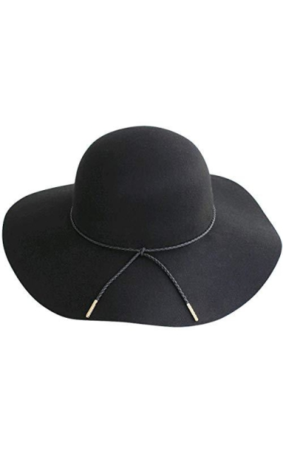 Lanzom Wide Brim Floppy Panama Hat