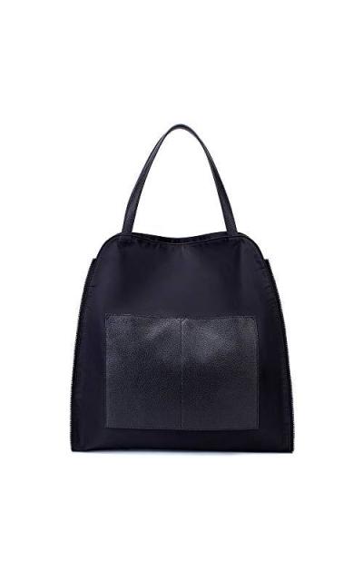 Black Large Capacity Waterproof Nylon Bag