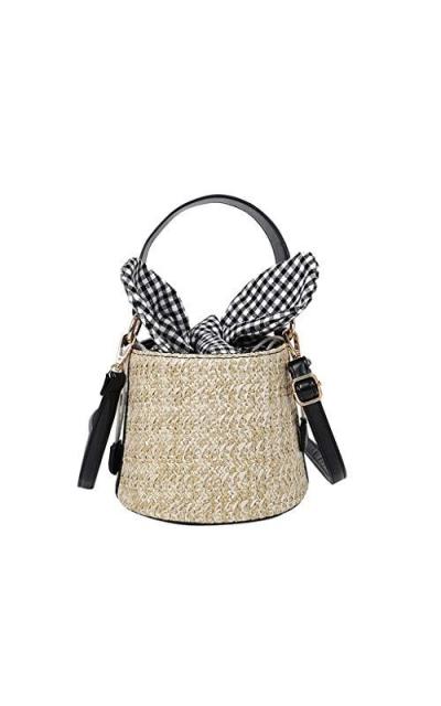 Woven Drawstring Bag