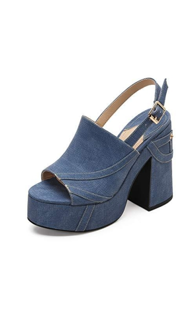 MACKIN J 618-2 Platform Wedge Sandals