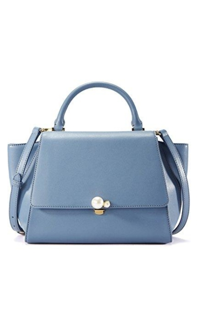 EMINI HOUSE Pearl Trapeze Handle Bag