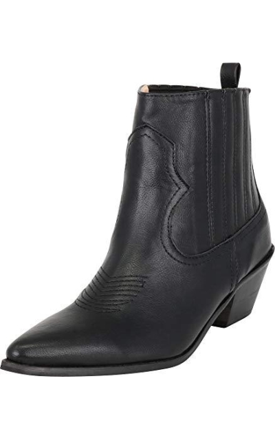 Cambridge Select Western Pointed Toe Booties