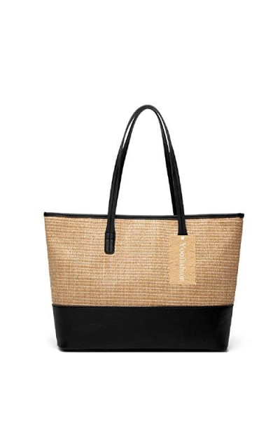 Yoofashion Straw Tote Bag