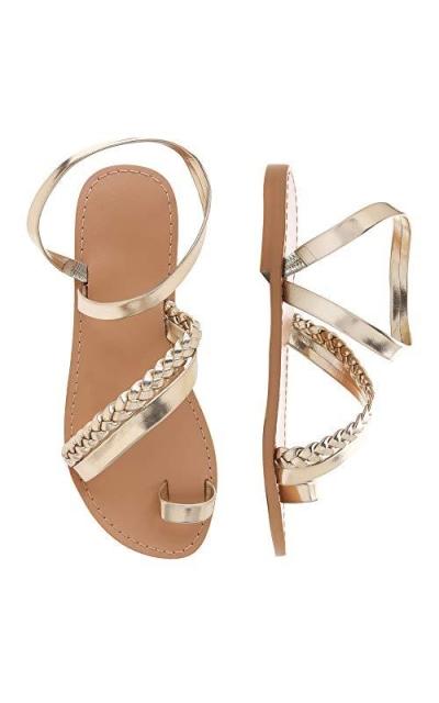Shoe'N Tale Toe Ring Gladiator Sandals