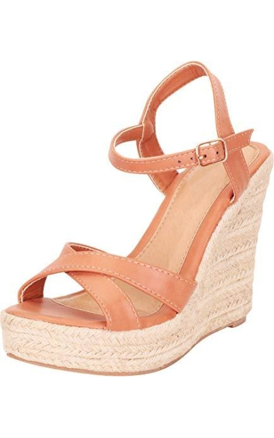 Cambridge Select Espadrille Wedge Sandal
