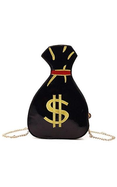 PU Hologram Laser Money bag Cross-Body Bag