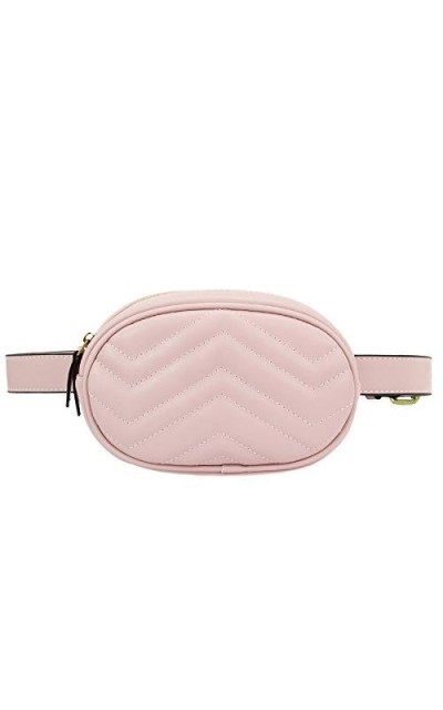 ZORFIN Quilted Fanny Pack Belt Bag