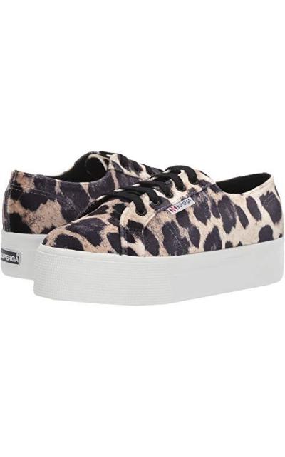 Superga Leopard Platform Sneaker