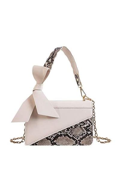 Aisa  Snakeskin Handbag