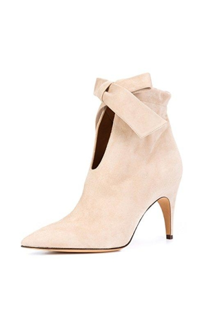 XYD Classical Pointy Toe Ankle Booties