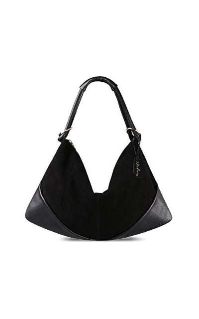 Nico Louise Suede Leather Hobo Bag